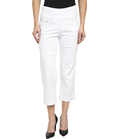 Jag Jeans Petite - Petite Caley Pull-On Crop Classic Fit in White