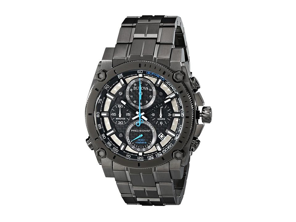 BULOVA Mens Precisonist - 98B229 (Black) Dress Watches