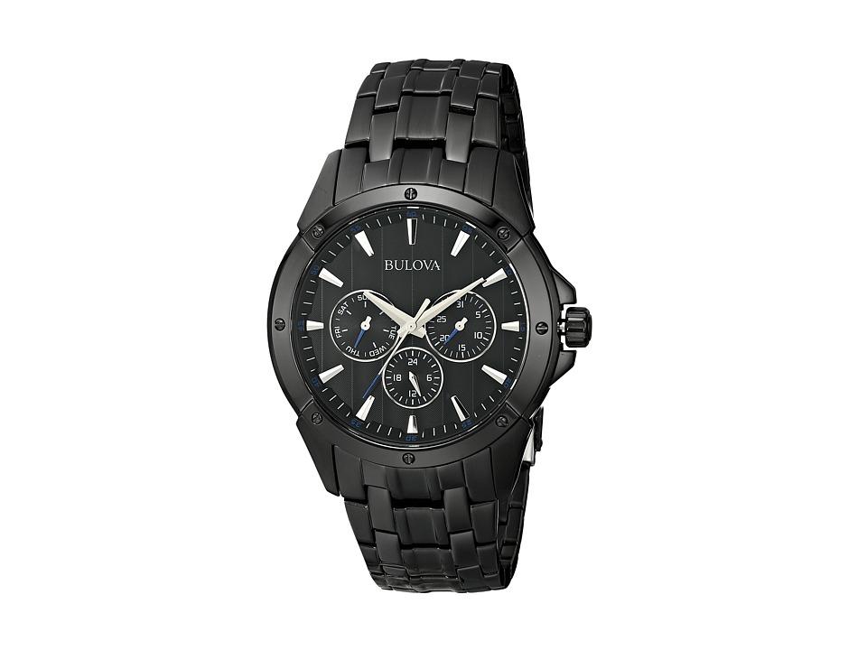 Bulova - Mens Dress - 98C121 (Black) Dress Watches
