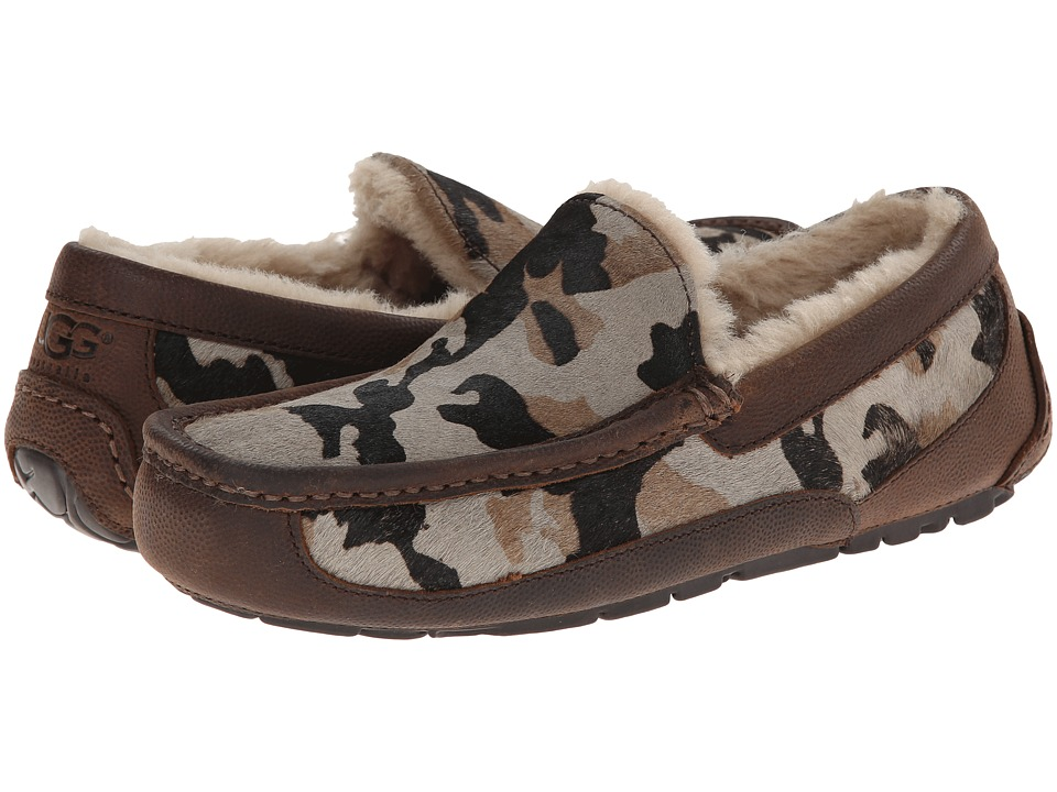 UGG Ascot Camo (Seal Camo Calf Hair/Leather) Men