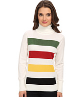 Pendleton - Petite Park Stripe Pullover