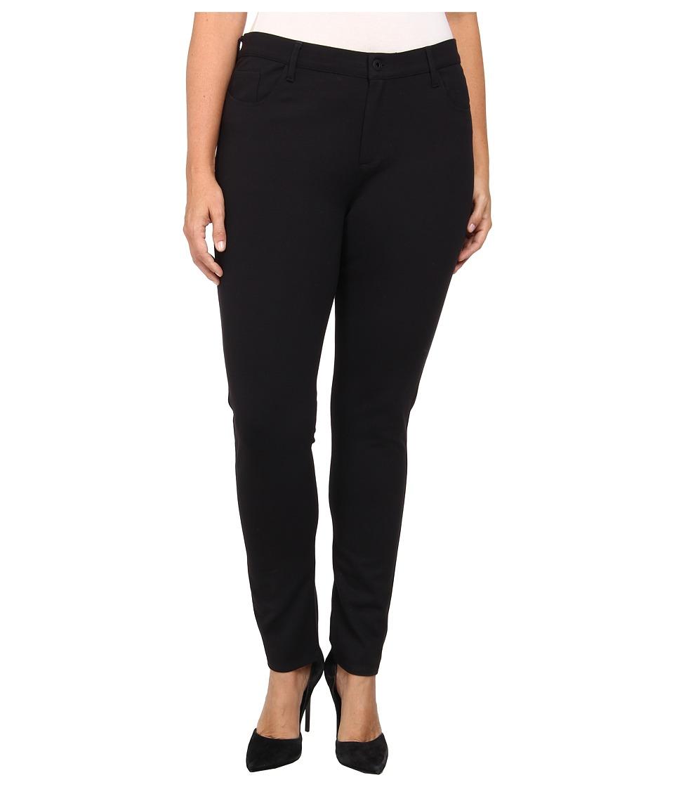 Yummie - Plus Size Tyler Jean Legging (Black) Womens Casual Pants