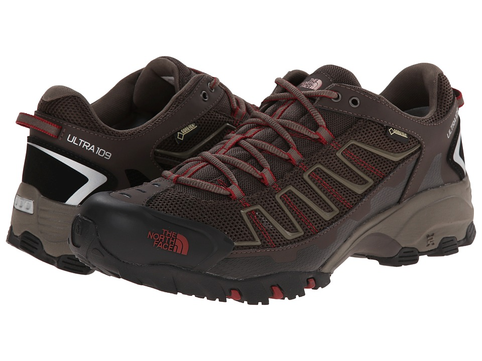 The North Face Ultra 109 GTX(r) (Coffee Brown/Rosewood Red (Prior Season)) Men