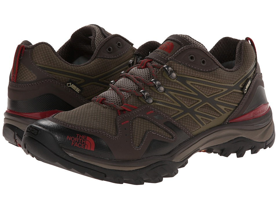 The North Face Hedgehog Fastpack GTX (Coffee Brown/Rosewood Red) Men