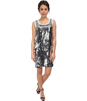 LOVE Moschino - Sleeveless Sequin Tank Dress