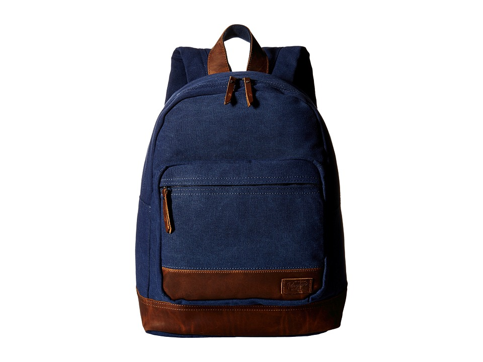 Original Penguin - Core Canvas Backpack (Navy) Backpack Bags