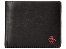 Original Penguin Printed Single Fold Wallet (Black)