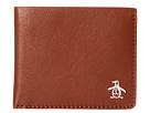Original Penguin Printed Single Fold Wallet (English Tan)