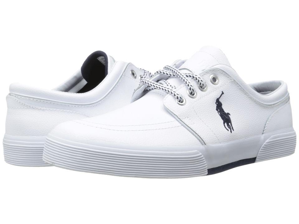 Polo Ralph Lauren - Faxon Low (White Sport Leather) Mens Shoes