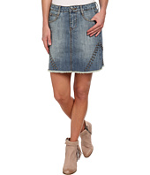 Stetson - Jean Skirt w/ Studs On Sides