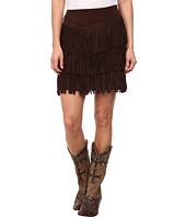 Stetson - Pig Suede Fringe Skirt
