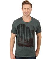 DKNY Jeans - Short Sleeve The Gate Premium Crew Neck Tee w/ Beaten Pigment