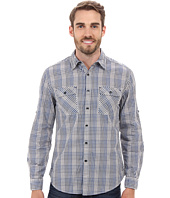 DKNY Jeans - Long Sleeve Roll Tab Degradee Check Shirt