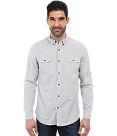 DKNY Jeans - Long Sleeve Roll Tab Double Stripe Shirt
