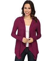 Mod-o-doc - Cotton Modal Thermal Hooded Cardigan