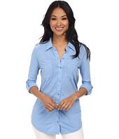 Mod-o-doc - Slub Jersey Button Front Tunic
