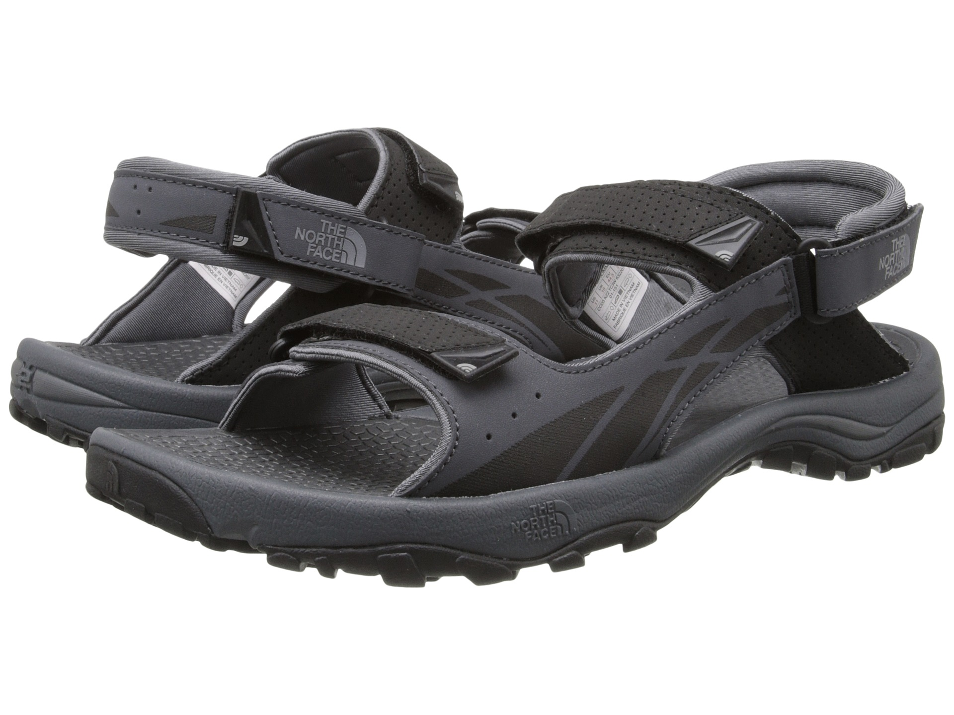 north face Sandals womens white