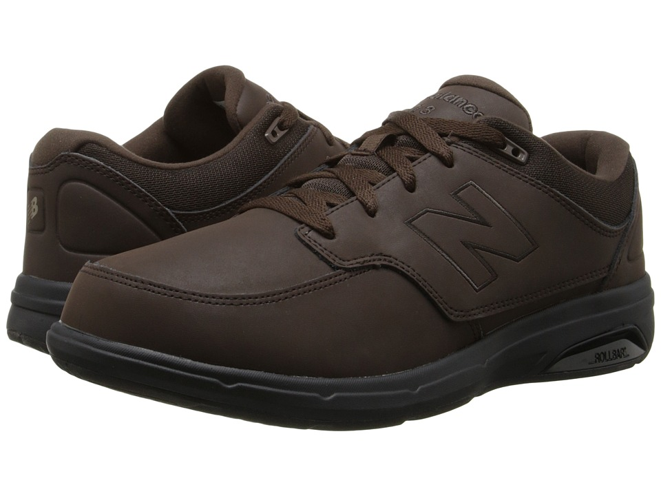 New Balance MW813 (Brown/Brown) Men's Walking Shoes
