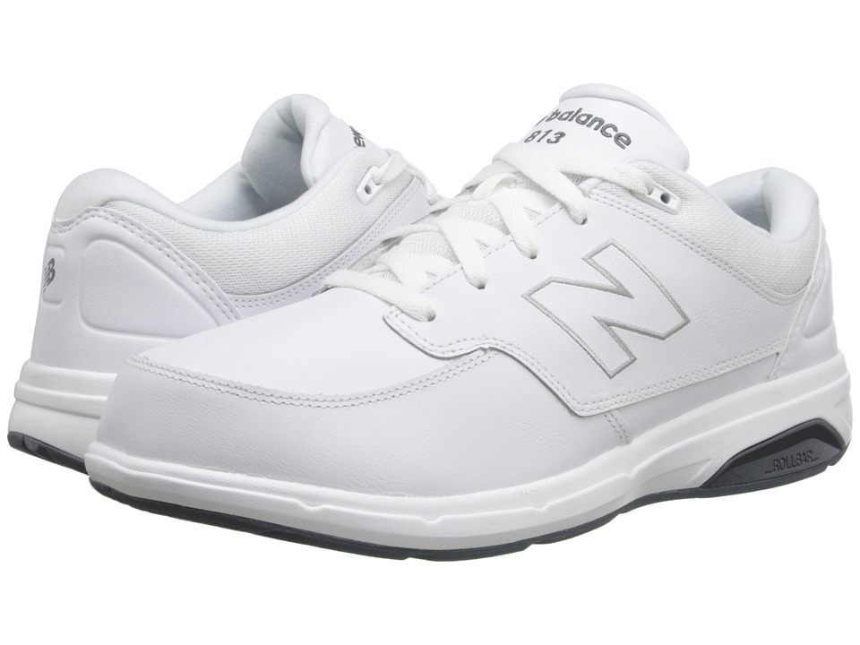 New Balance MW813 (White/White) Men's Walking Shoes