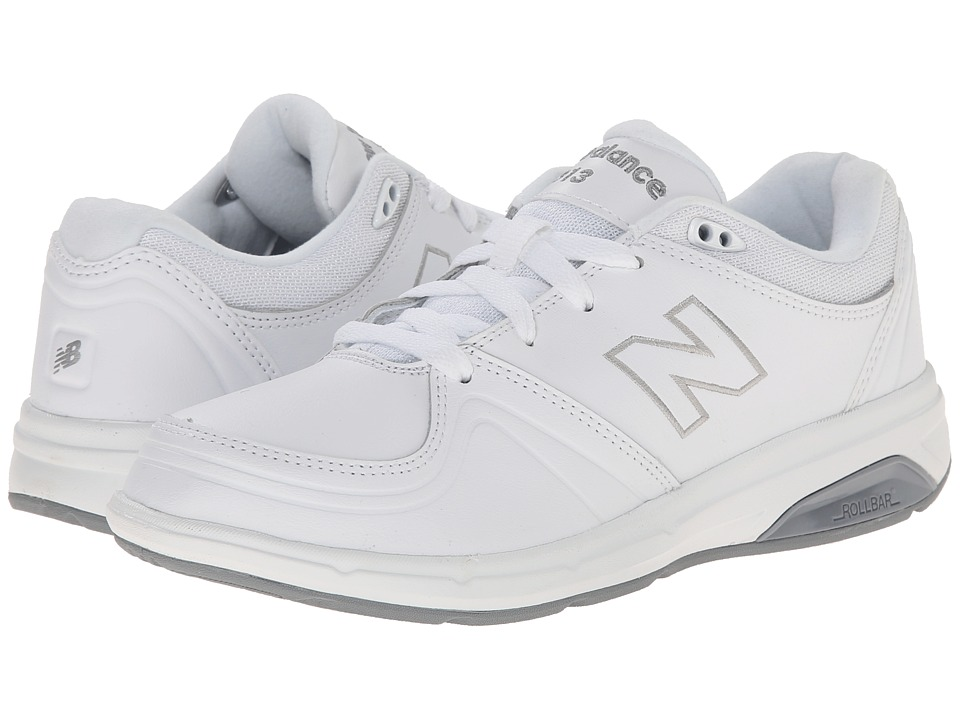 New Balance WW813 (White) Walking Shoes