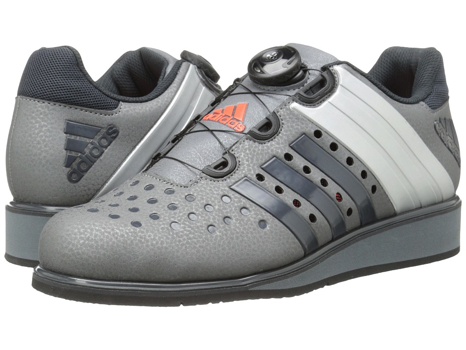 adidas - Drehkraft (Iron Metallic/Dark Grey/Silver Metallic) Men