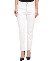 NYDJ Petite - Petite Clarissa Skinny Ankle Fine Line Twill in Optic White
