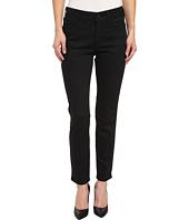 NYDJ Petite - Petite Clarissa Skinny Ankle Fine Line Twill in Black
