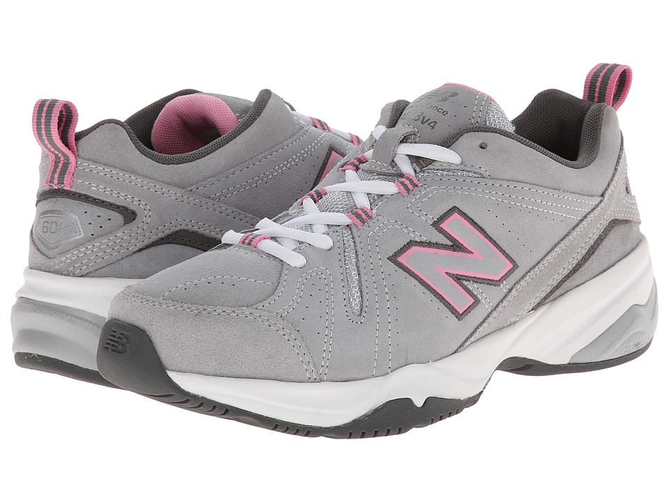 New Balance - WX608v4 (Grey/Pink) Womens Shoes