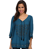 Scully - Juanita Beautifully Embroidered Tunic