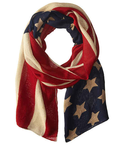 Scully Patriot Scarf - Red