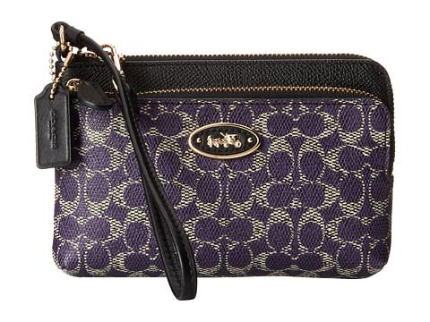 Repair coach coated canvas handbag
