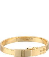 COACH - Box Horse and Carriage Plaque Hinged Bangle