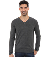 Perry Ellis - Solid V-Neck Sweater