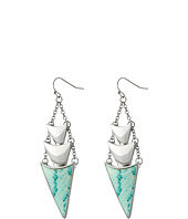 GUESS - Stacked Triangle Drop Earring