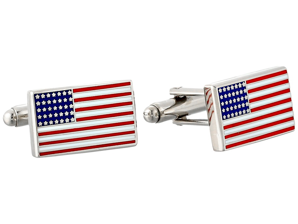 Cufflinks Inc. - American Flag Cufflinks (Red) Cuff Links