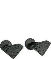 Cufflinks Inc. - Satin Black Superman Shield Cufflinks
