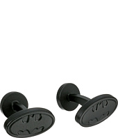 Cufflinks Inc. - Satin Black Batman Logo Cufflinks