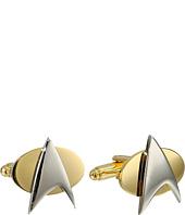Cufflinks Inc. - Two-Tone Star Trek Delta Shield Cufflinks