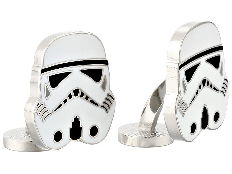 Cufflinks Inc. - Star Warstm Stormtrooper Cufflinks (Black) Cuff Links