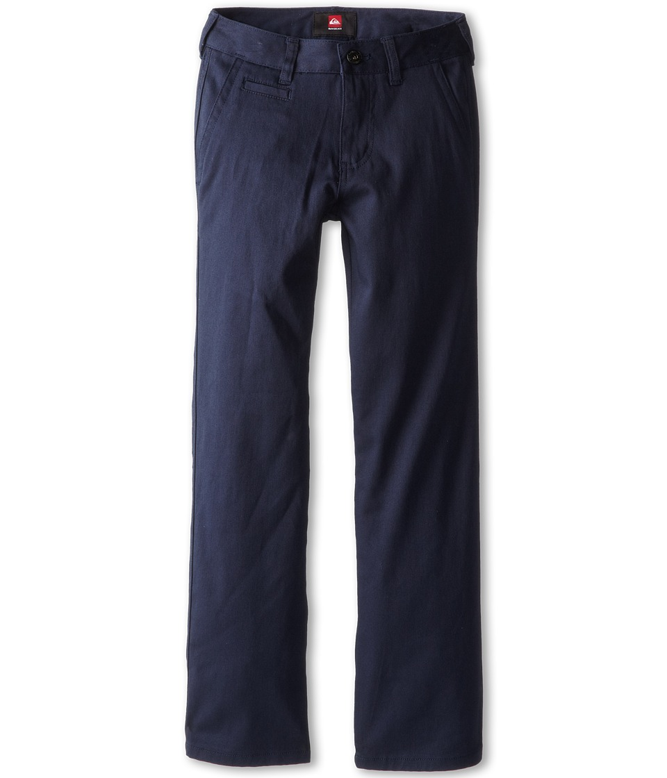 Quiksilver Kids Union Pant Big Kids Washed Navy Boys Casual Pants