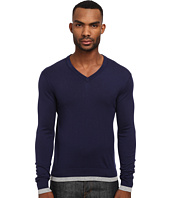 Michael Kors - Tipped V-Neck Sweater