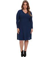 Pendleton - Plus Size Black Magic Merino Wool Dress