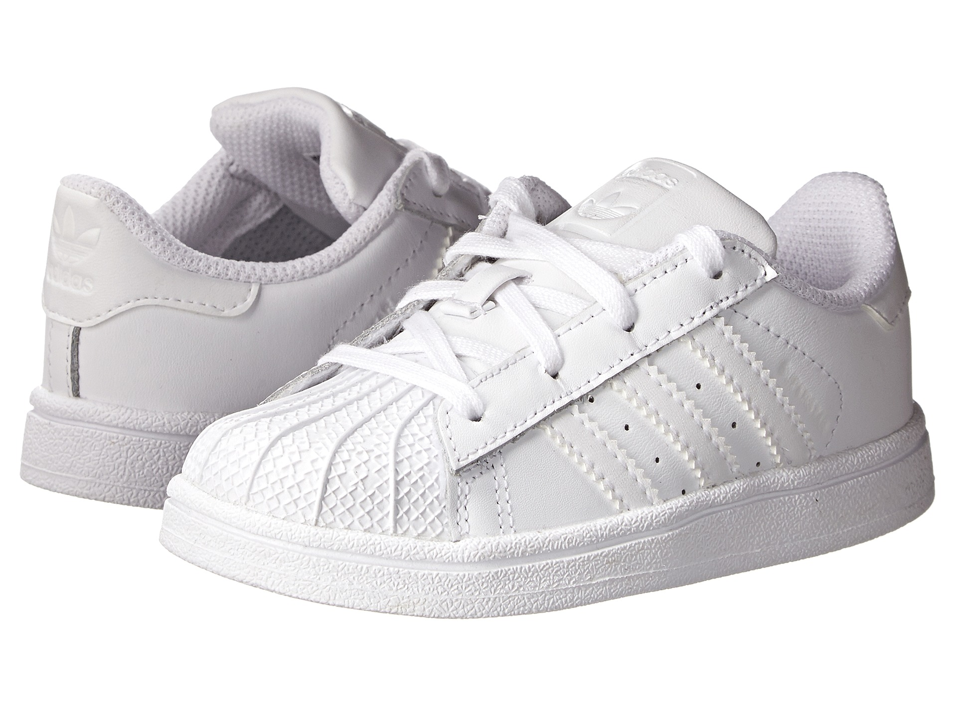adidas Originals Kids Superstar C Foundation (Little Kid) Zappos