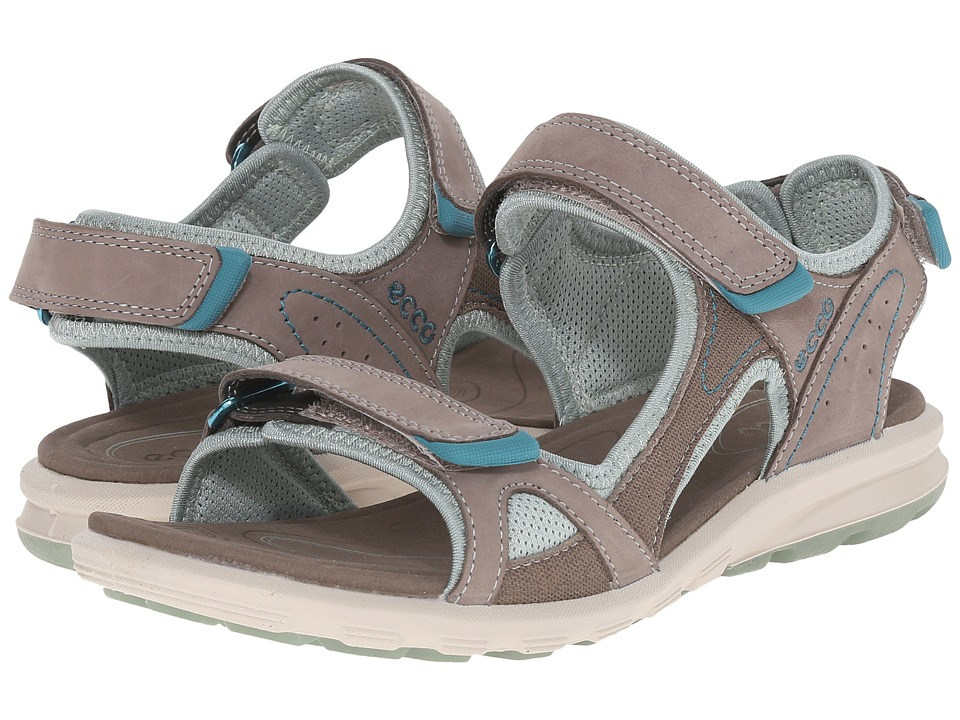 ECCO Sport - Cruise Catalina Sandal (Warm Grey/Ice Flower) Womens Shoes