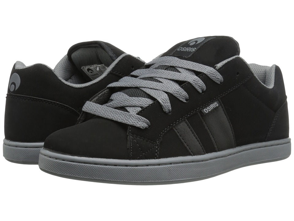 Osiris Loot Black/Black Mens Skate Shoes
