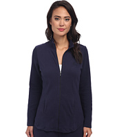 LAUREN Ralph Lauren - Lounge Jacket with Quilted Sleeves