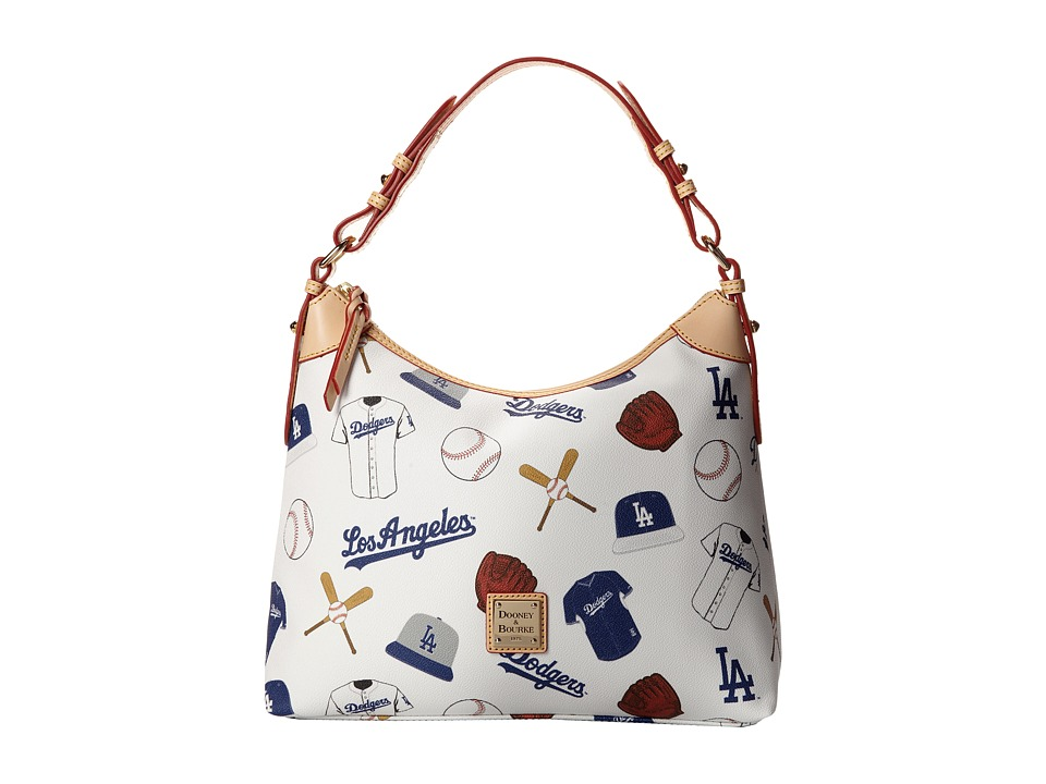 Dooney & Bourke - MLB Hobo (Dodgers/White) Hobo Handbags
