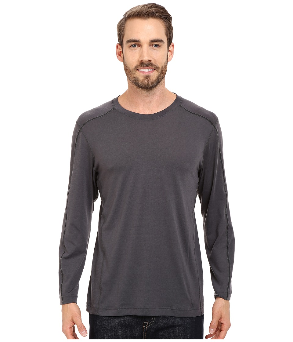Mountain Hardwear - CoolHiker L/S Tee (Shark) Men