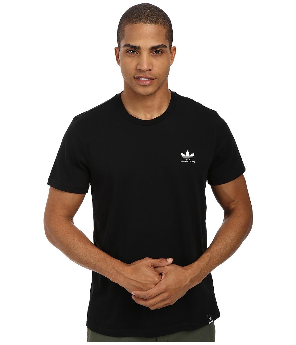 adidas Skateboarding ADV 2.0 CLIMALITE Tee Black Mens T Shirt