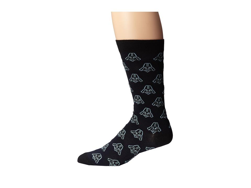 Cufflinks Inc. Star Wars Darth Vader Socks Black Mens Crew Cut Socks Shoes
